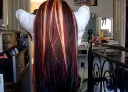 idears for brown hair with blond highlights ideas brown hair red blonde highlights medium hair styles ideas