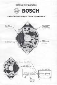 bosch internal regulator alternator wiring diagram projekty do
