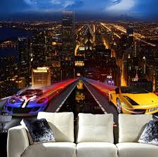 Cars Wall Mural by Online Get Cheap Mural Cars 3d Aliexpress Com Alibaba Group