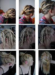 stages of dreadlocks pictures hair in stages i just used schwarzkopf live colour xxl on flickr