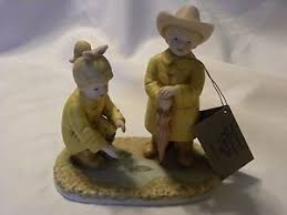 denim days home interior denim days 1999 home interior puddle jumpers 88013 99 figurine w