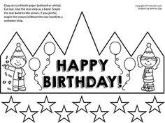 birthday crown certificate chart birthday charts poster