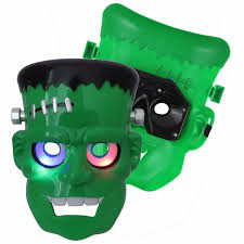 frankenstein mask plastic frankenstein mask for kid led mask