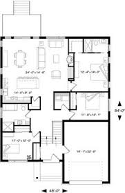 monster floor plans ranch style house plans 1437 square foot home 1 story 3