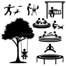pictogramme cuisine gratuit pictogramme à la maison d activité d arrière cour illustration de