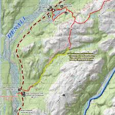 Valdez Alaska Map by Lower Troublesome Creek Trail
