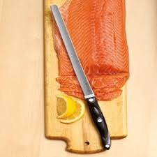 cutco classic black handle salmon knife walmart com