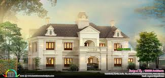 French Style Home Architecture Kerala Home Design Bloglovin - French home design