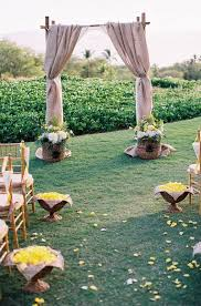 wedding arches decorated with burlap 599 best wedding arches images on rustic wedding