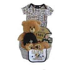 new orleans gift baskets buy new orleans saints baby gift basket touchdown in cheap