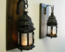 stained wall sconce etsy