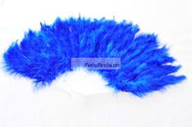 feather fans royal blue marabou feather fan wholesale wedding costuming crafts