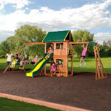 prairie ridge wooden swing set cedar swing sets wooden swings