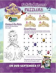 disney sofia ready princess printable puzzle
