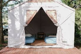 Tent Cabin | mendo oasis tent cabin solar living center ca 6 hipcer reviews