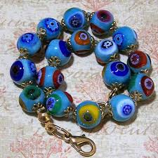 murano glass bead bracelet images Shop murano glass beads italy on wanelo jpg