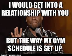 Gym Relationship Memes - lmao try being a competitive powerlifter too smh they all