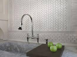 Basketweave Tile Backsplash With Mini Kitchen And Tile Backsplash - Basket weave tile backsplash