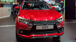2017 mitsubishi outlander sport interior mitsubishi showcases facelifted asx and mirage at geneva auto