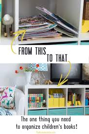 kids book shelves the one thing you need to organize children u0027s books the home i