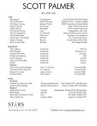Actor Resume Template Free 28 Professional Actor Resume Acting Resume Template