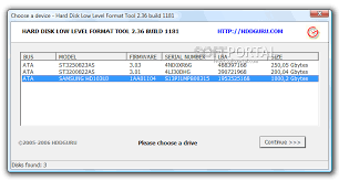 format hard disk tool hdd low level format tool скачать бесплатно hdd low level format