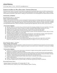Performance Resume Template Combination Resume Sample Marketing Communications Manager Pg1 8