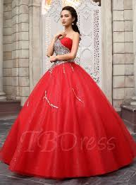 Halloween Prom Costumes Tbdress Shoulder Crystal Bowknot Quinceanera Dress
