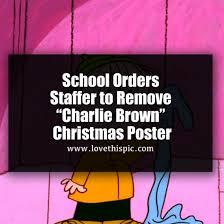 brown christmas poster school orders staffer to remove brown christmas