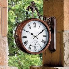 Pottery Barn Outdoor Clock Outdoor Clocks By Dans Clocks Time Is Of The Essence Pinterest