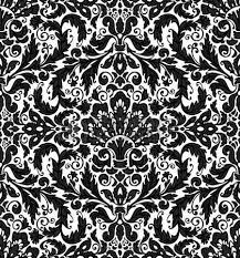 ornamental lace pattern on wood background royalty free