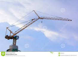 tall construction crane stock images image 13322334