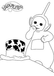 teletubbies dipsy coloring pages coloring
