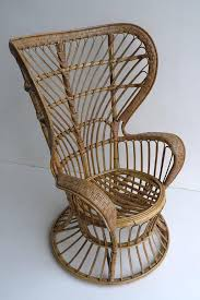 Wingback Wicker Chair High Wingback Rattan Chair By Gio Ponti And Lio Carminati Italy