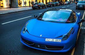 Ferrari 458 Matte Black - 6 i ferrari 458 italia 6 spider web matte blue ferrari 458 italia