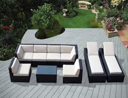 White Wicker Patio Chairs Lovable Wicker Sectional Outdoor Furniture U2013 Home Designing