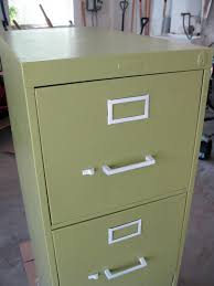 Chalk Paint On Metal Filing Cabinet Running With Scissors Junk