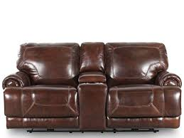Leather Loveseat Recliner Simon Li Leather Stampede Coffee Reclining Loveseat Mathis