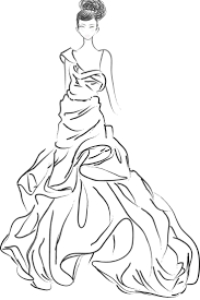 fashion design coloring pages free printable coloring pages 6138