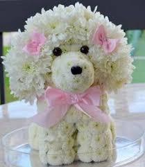 dog flower arrangement flowertoy cat made from fresh flowers flowertoy