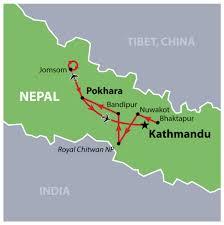 Kathmandu Nepal Map by Nepal Bhutan Photography Tour Incredible India Tours