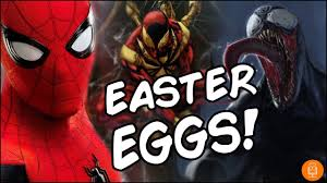Spider Man Homecoming All Easter Eggs Youtube