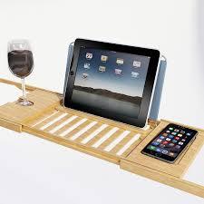 Bathroom Caddy Ideas by Amazon Com Bath Dreams Bamboo Bathtub Caddy Tray With Extending