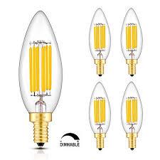 white light bulbs not yellow crlight led candelabra bulb 6w 2700k warm white 700lm 60w