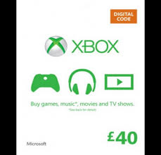 xbox live gift cards live 40 gift card online digital code