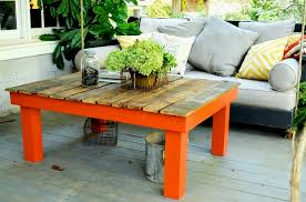 Coffee Table Out Of Pallets by Pallet Board Coffee Table Redeem Your Ground Rygblog Com