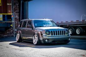 silver jeep patriot stanced jeep patriot cartuning best car tuning photos from all