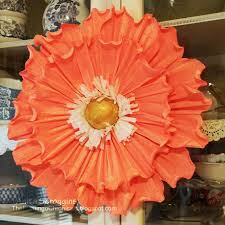 crepe paper flowers crepe paper flowers diy flower decorations smoothfoam