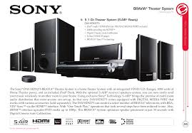 sony home theater 5 1 download free pdf for sony bravia dav hdx275 home theater manual