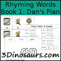 bob books rhyming words book 1 u0027s plan lots rhyme